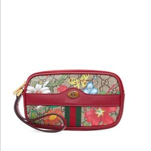 Ophidia GG Flora Wrist Wallet - Gucci wallet